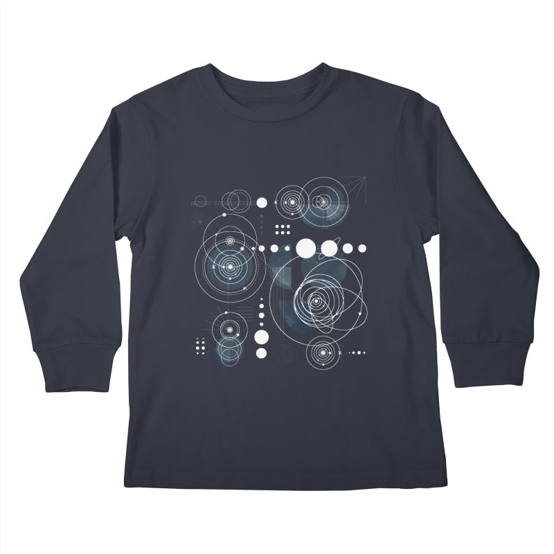 Bauhaus galaxy Kids Longsleeve T-Shirt by AdenaJ
