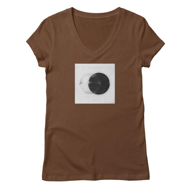Spaces Album Women's Regular V-Neck by Adi Goldstein's Merchandise  Shop