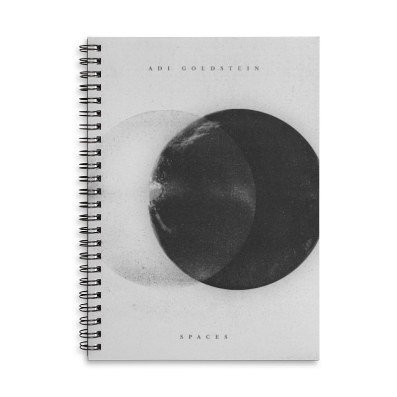 Spaces Album Accessories Lined Spiral Notebook by Adi Goldstein's Merchandise  Shop