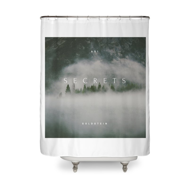 Secrets Album Home Shower Curtain by Adi Goldstein's Merchandise  Shop