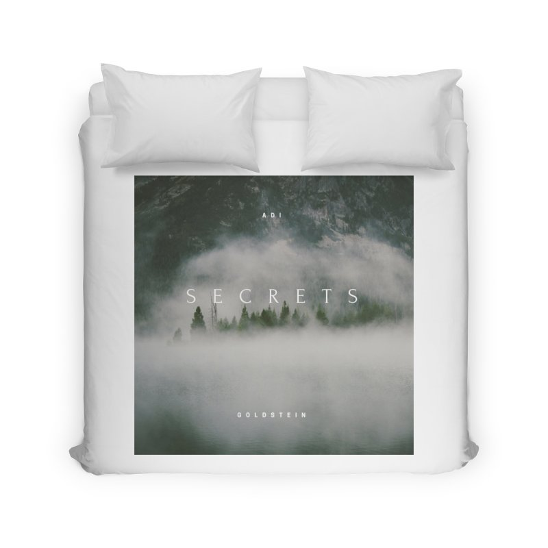 Secrets Album Home Duvet by Adi Goldstein's Merchandise  Shop