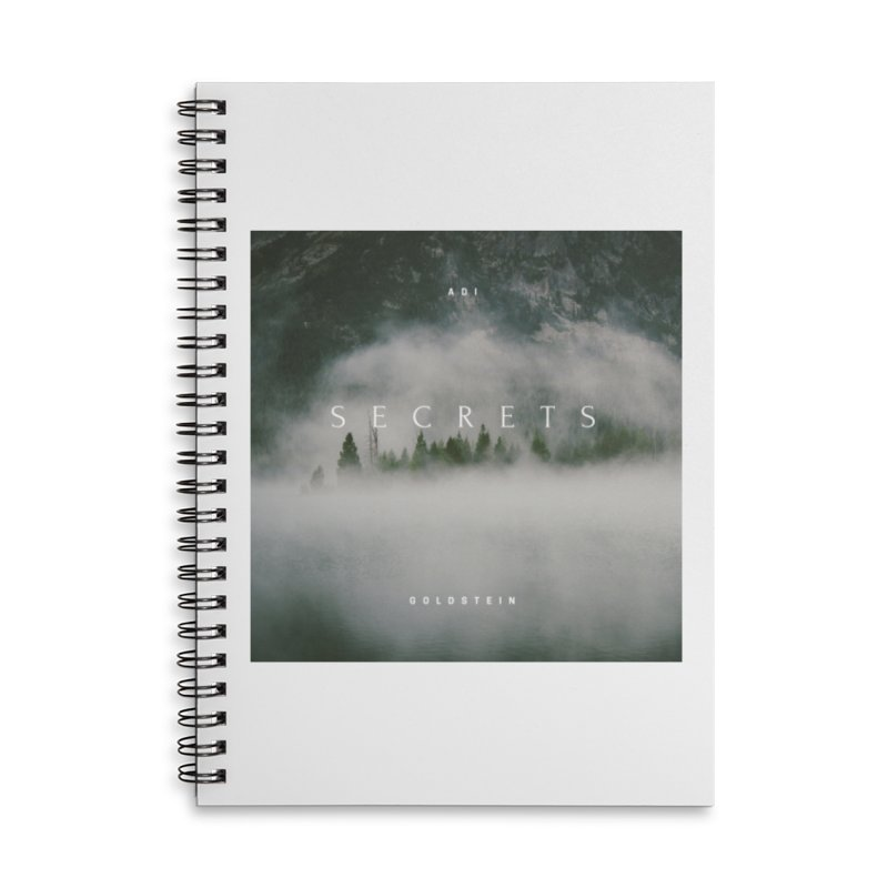 Secrets Album Accessories Lined Spiral Notebook by Adi Goldstein's Merchandise  Shop