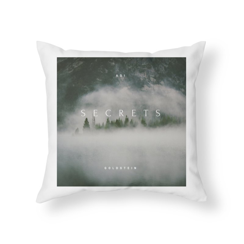 Secrets Album Home Throw Pillow by Adi Goldstein's Merchandise  Shop