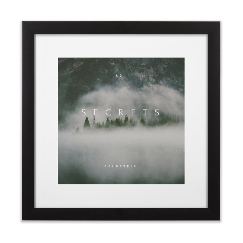 Secrets Album Home Framed Fine Art Print by Adi Goldstein's Merchandise  Shop