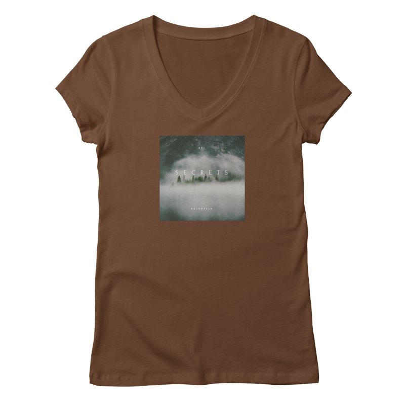 Secrets Album Women's Regular V-Neck by Adi Goldstein's Merchandise  Shop