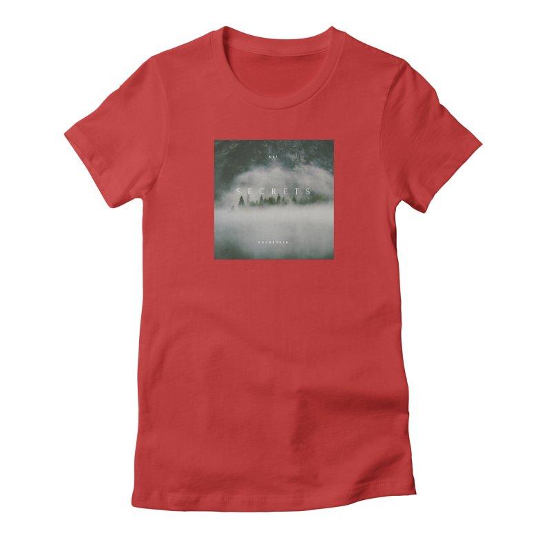 Secrets Album Women's Fitted T-Shirt by Adi Goldstein's Merchandise  Shop