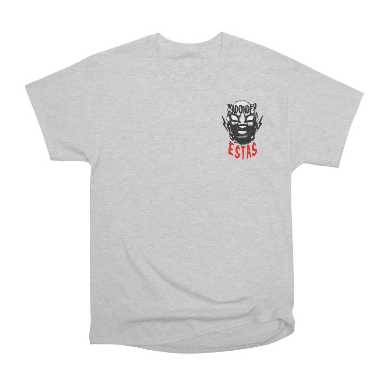 ADONDE ESTAS OVER THE HEART LOGO Men's T-Shirt by Adonde Life