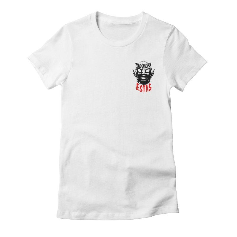 ADONDE ESTAS OVER THE HEART LOGO Women's T-Shirt by Adonde Life