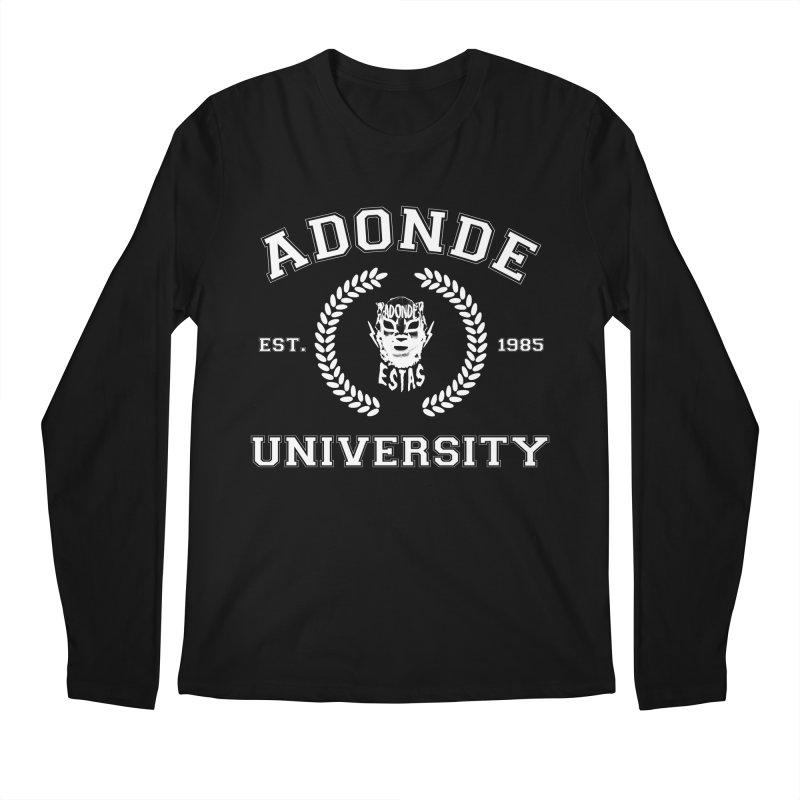 ADONDE UNIVERSITY Men's Longsleeve T-Shirt by Adonde Life