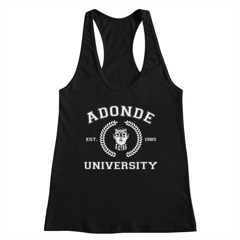 ADONDE UNIVERSITY Women's Tank by Adonde Life