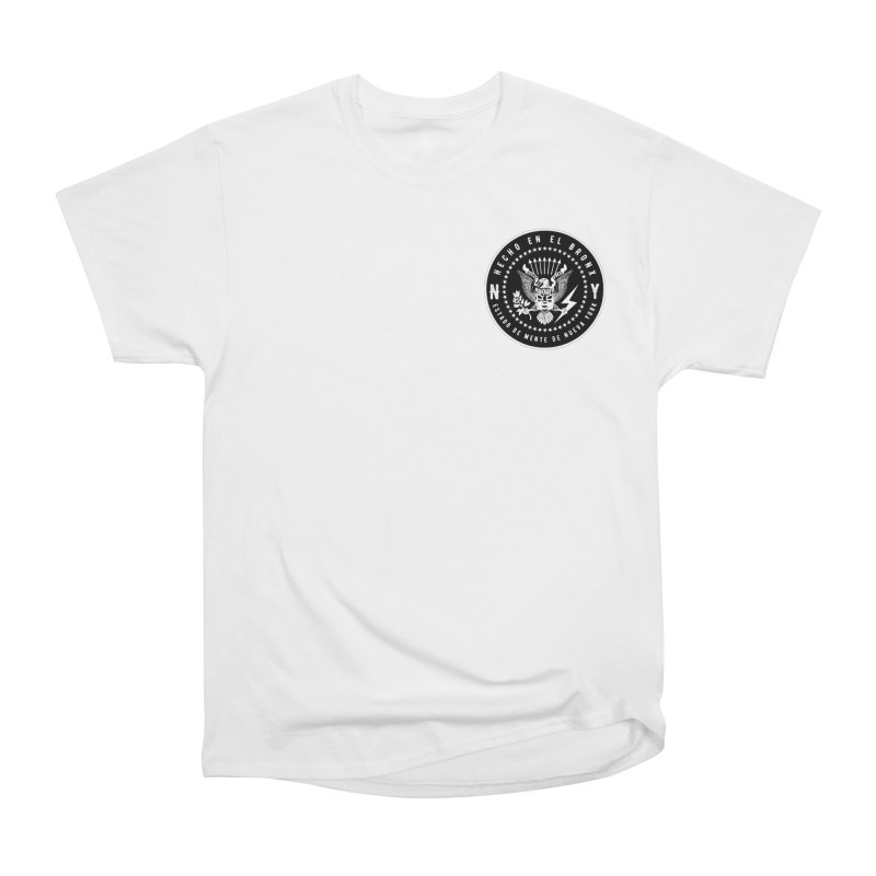 MADE IN THE BX / NY STATE OF MIND OVER THE HEART Women's T-Shirt by Adonde Life