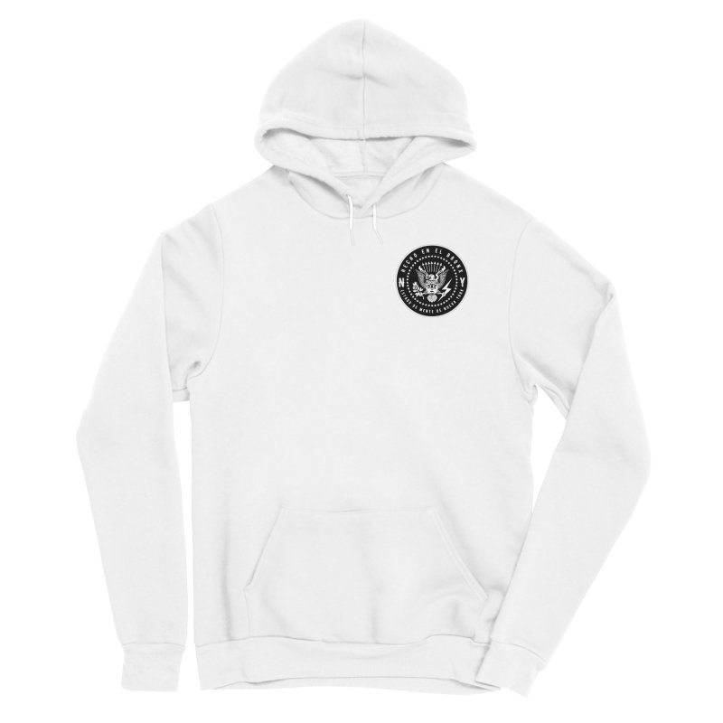 MADE IN THE BX / NY STATE OF MIND OVER THE HEART Men's Pullover Hoody by Adonde Life