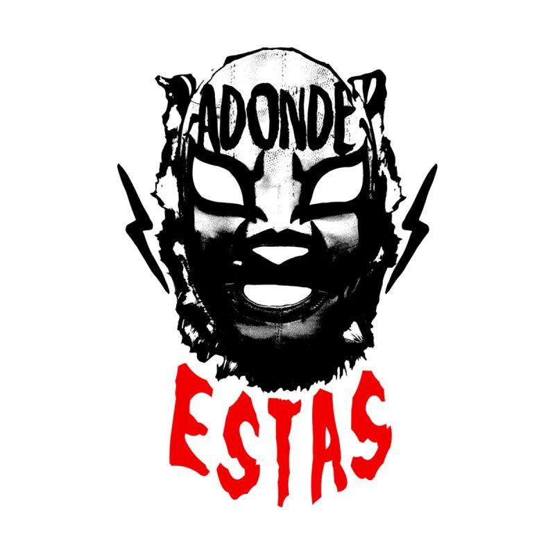 ADONDE ESTAS LOGO Men's T-Shirt by Adonde Life