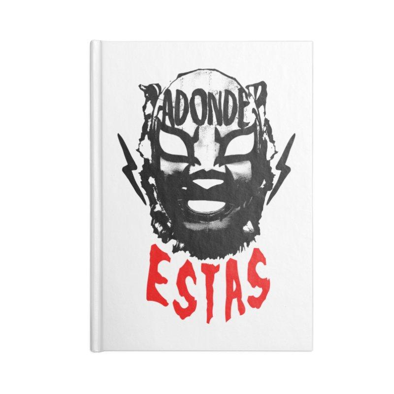 ADONDE ESTAS LOGO Accessories Notebook by Adonde Life