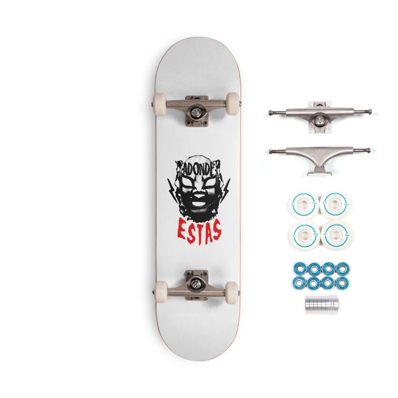 ADONDE ESTAS LOGO Accessories Skateboard by Adonde Life