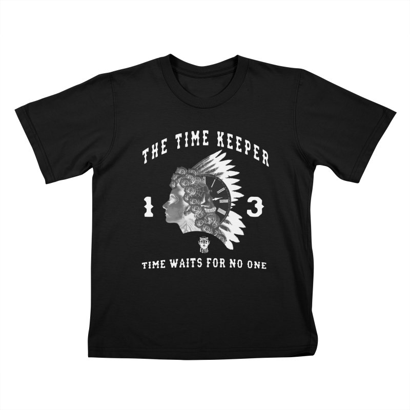 THE TIME KEEPER Kids T-Shirt by Adonde Life