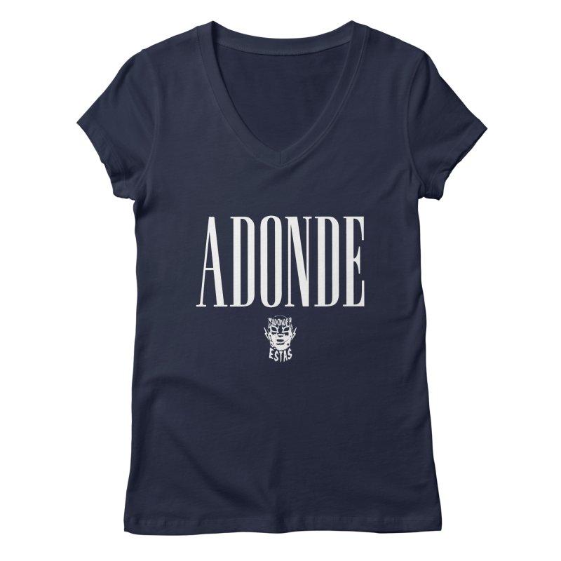ADONDE GAP FLIP Women's V-Neck by Adonde Life
