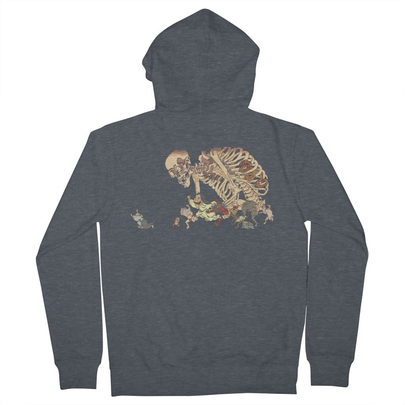 Yokai Parade Women's Zip-Up Hoody by Adrian Geary's Artist Shop