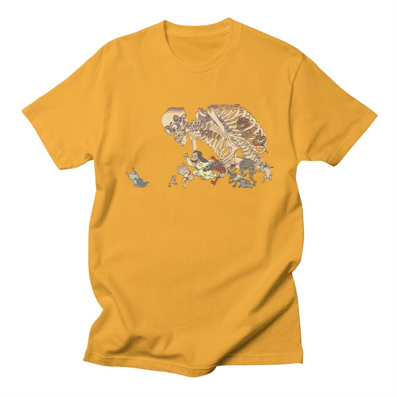 Yokai Parade Men's T-Shirt by Adrian Geary's Artist Shop