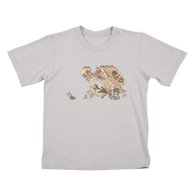 Yokai Parade Kids T-shirt by Adrian Geary's Artist Shop