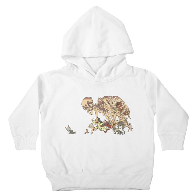 Yokai Parade Kids Toddler Pullover Hoody by Adrian Geary's Artist Shop