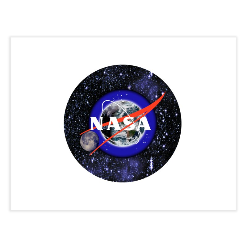 New NASA logo Home Fine Art Print by New NASA logo
