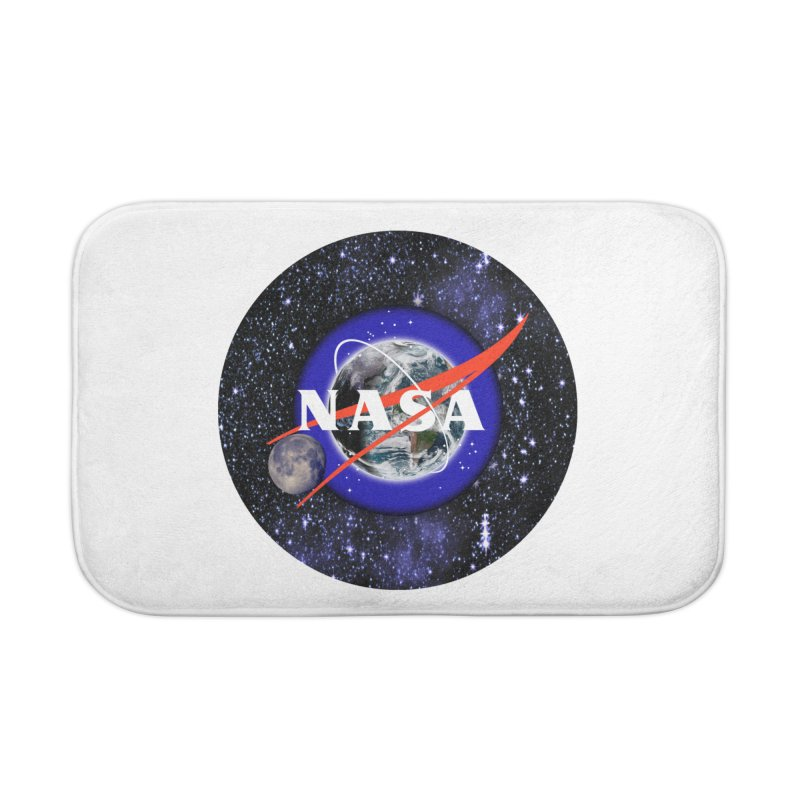 New NASA logo Home Bath Mat by New NASA logo