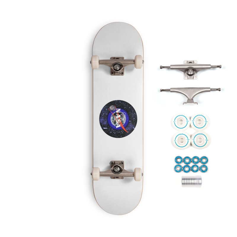 New NASA logo Accessories Complete - Basic Skateboard by New NASA logo