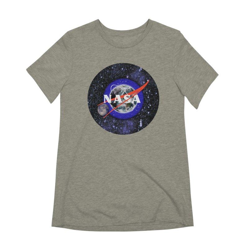 New NASA logo Women's Extra Soft T-Shirt by New NASA logo