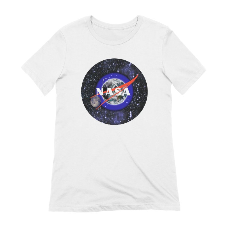 New NASA logo Women's Extra Soft T-Shirt by New NASA logo
