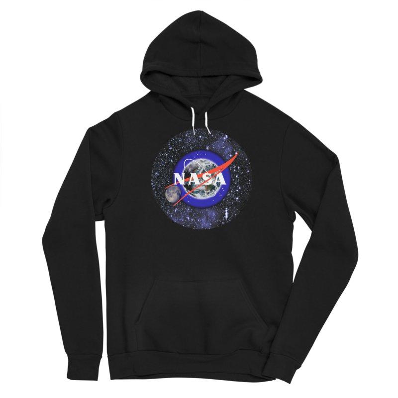 New NASA logo Men's Sponge Fleece Pullover Hoody by New NASA logo