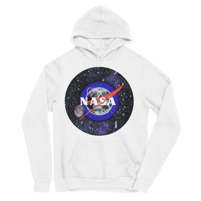 New NASA logo Women's Sponge Fleece Pullover Hoody by New NASA logo