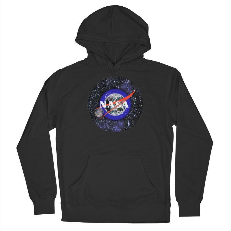 New NASA logo Men's French Terry Pullover Hoody by New NASA logo