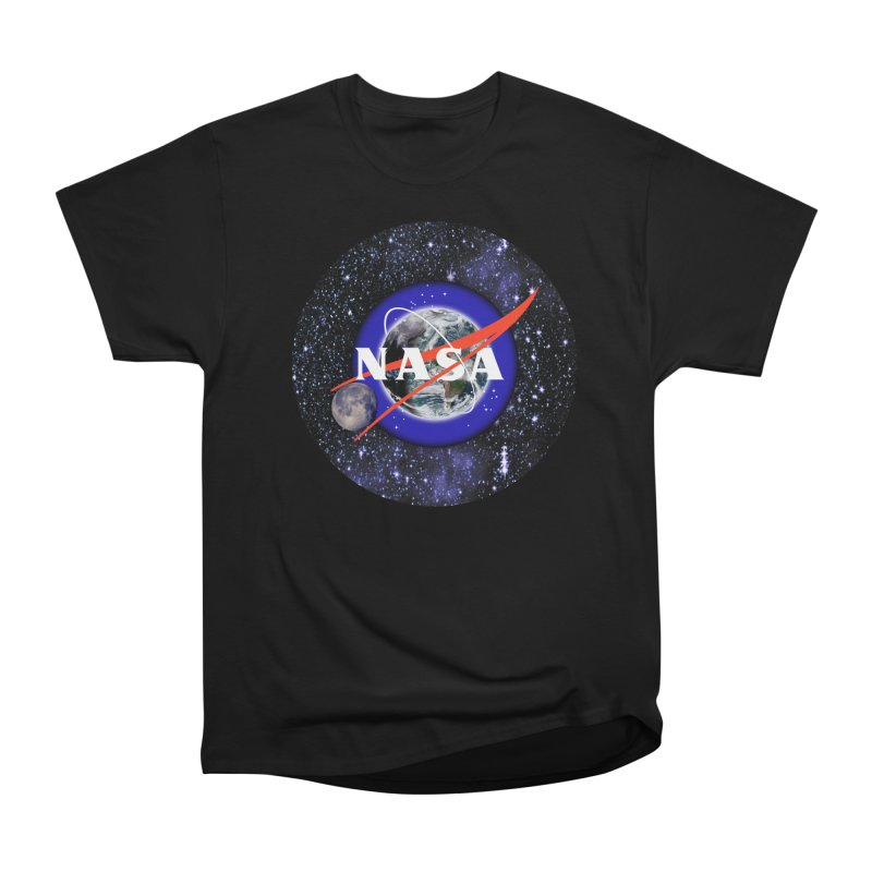 New NASA logo Men's Heavyweight T-Shirt by New NASA logo