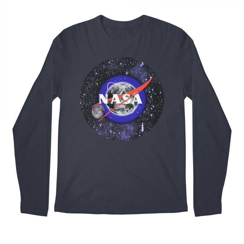 New NASA logo Men's Regular Longsleeve T-Shirt by New NASA logo