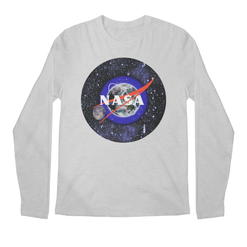 New NASA logo Men's Longsleeve T-Shirt by New NASA logo
