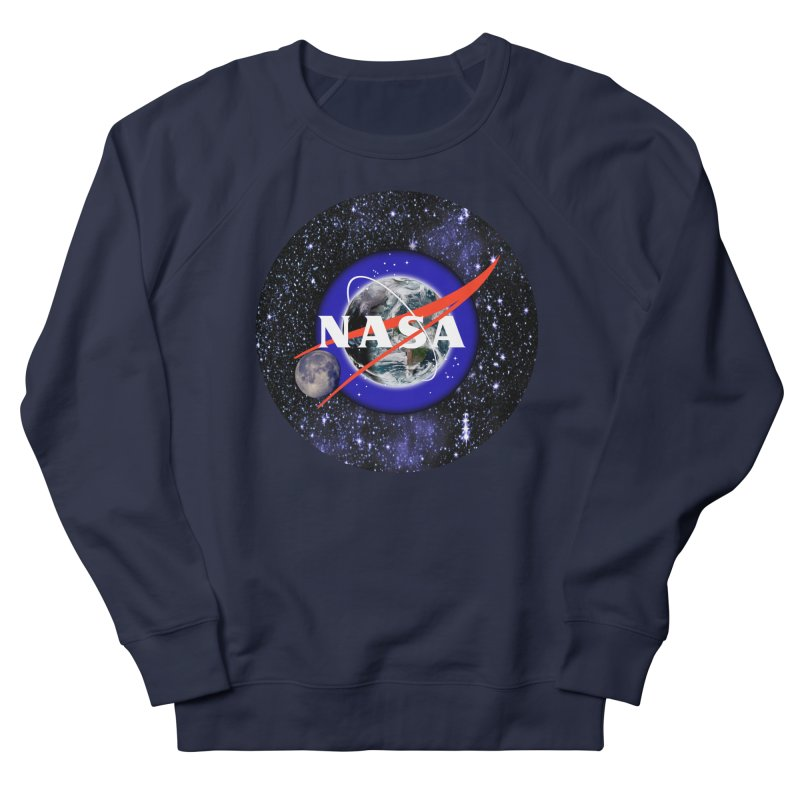 New NASA logo Women's French Terry Sweatshirt by New NASA logo
