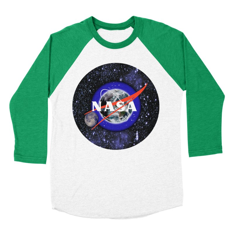 New NASA logo Women's Baseball Triblend Longsleeve T-Shirt by New NASA logo
