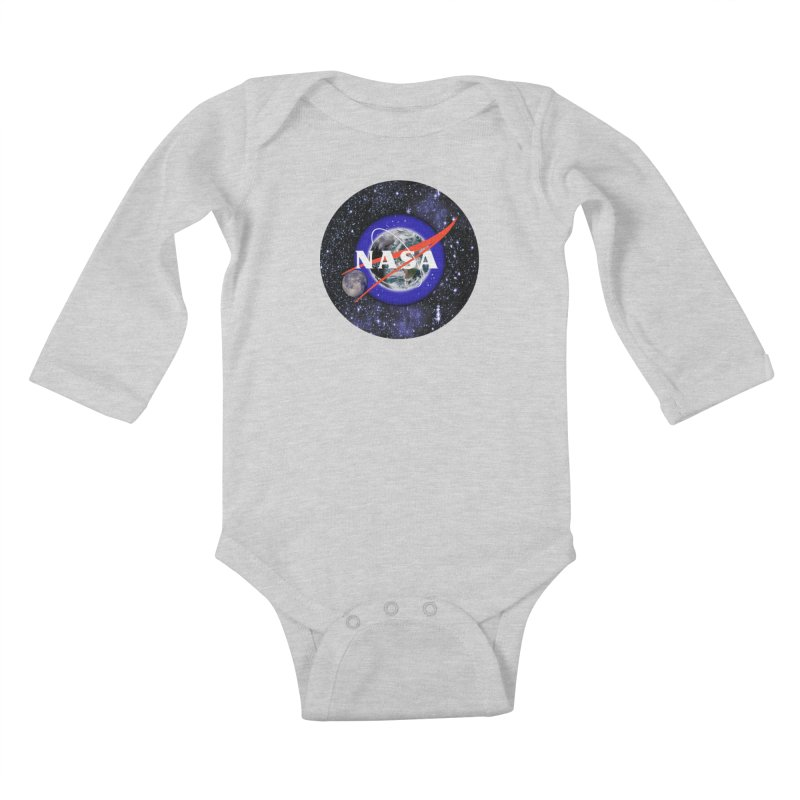 New NASA logo Kids Baby Longsleeve Bodysuit by New NASA logo