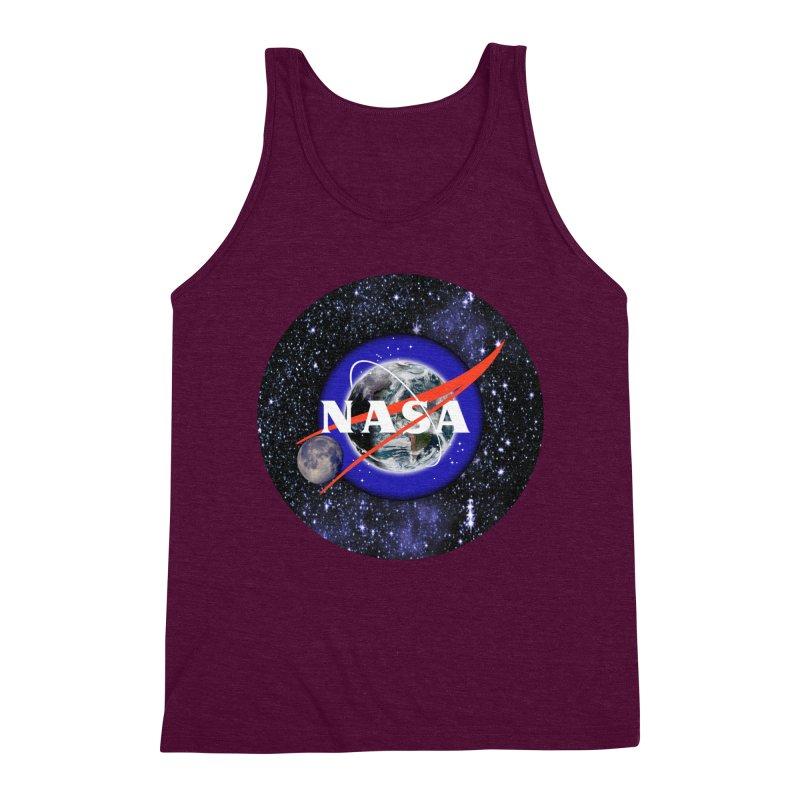 New NASA logo Men's Triblend Tank by New NASA logo