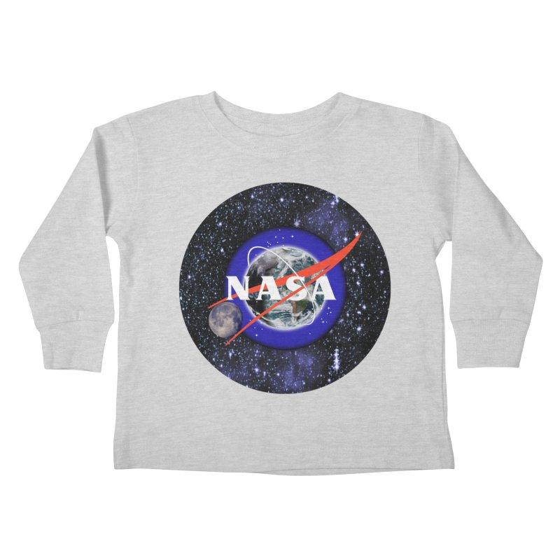 New NASA logo Kids Toddler Longsleeve T-Shirt by New NASA logo