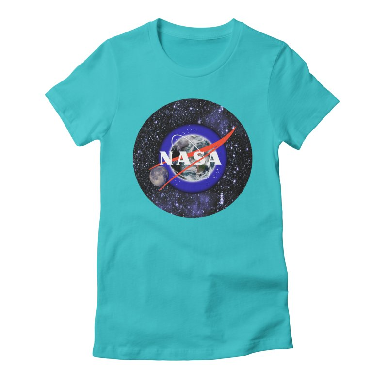 New NASA logo Women's Fitted T-Shirt by New NASA logo