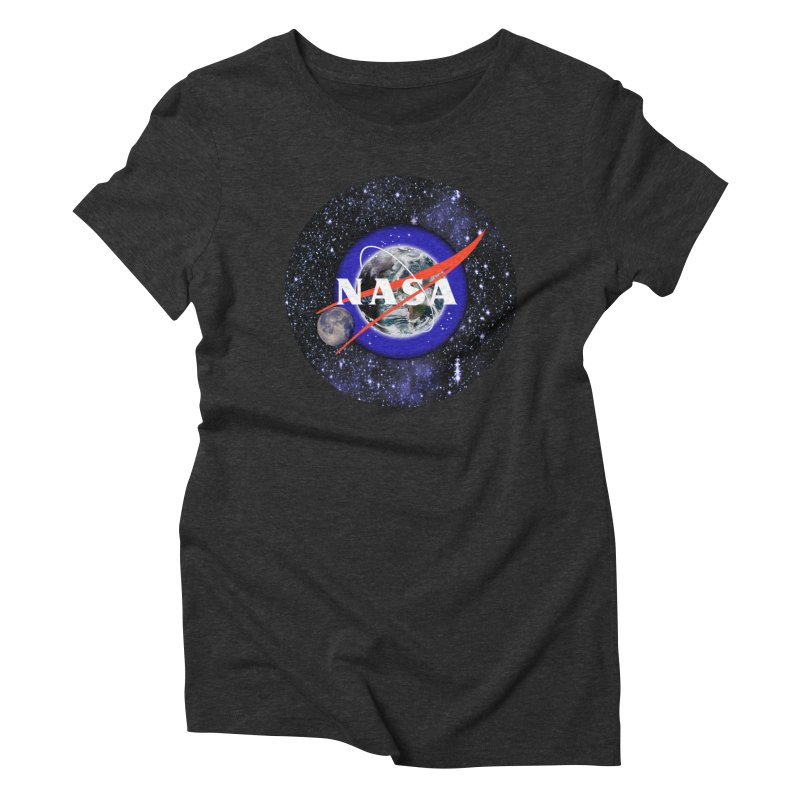New NASA logo Women's Triblend T-Shirt by New NASA logo