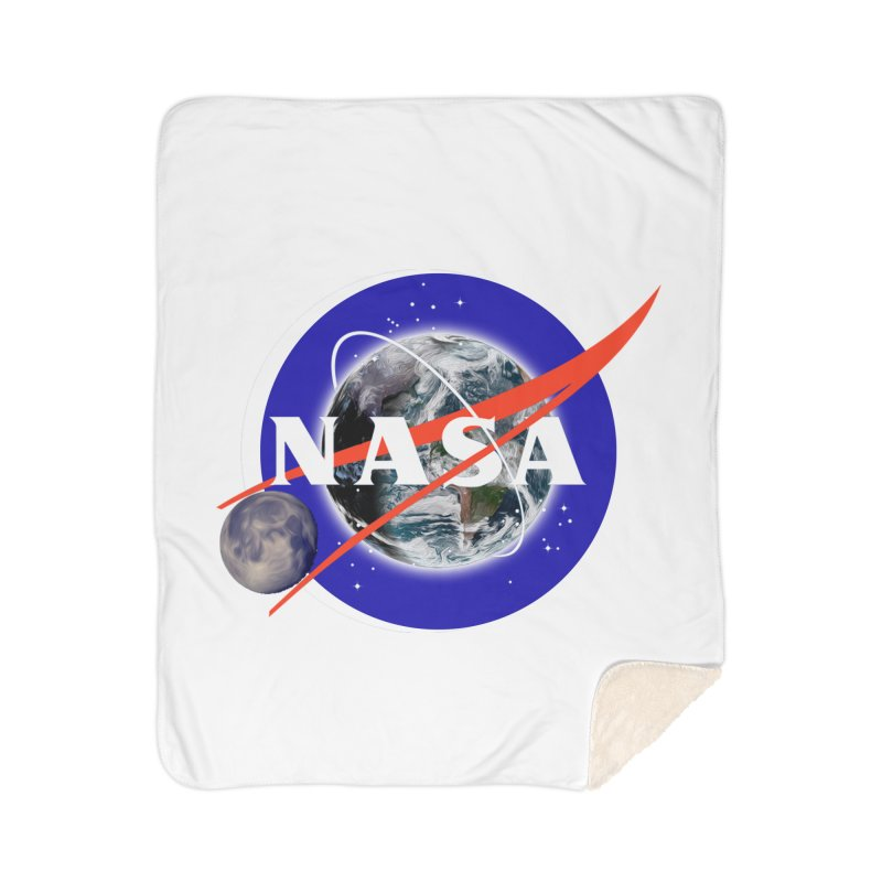 New NASA logo Home Sherpa Blanket Blanket by New NASA logo