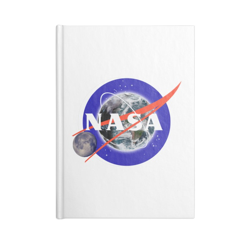 New NASA logo Accessories Lined Journal Notebook by New NASA logo