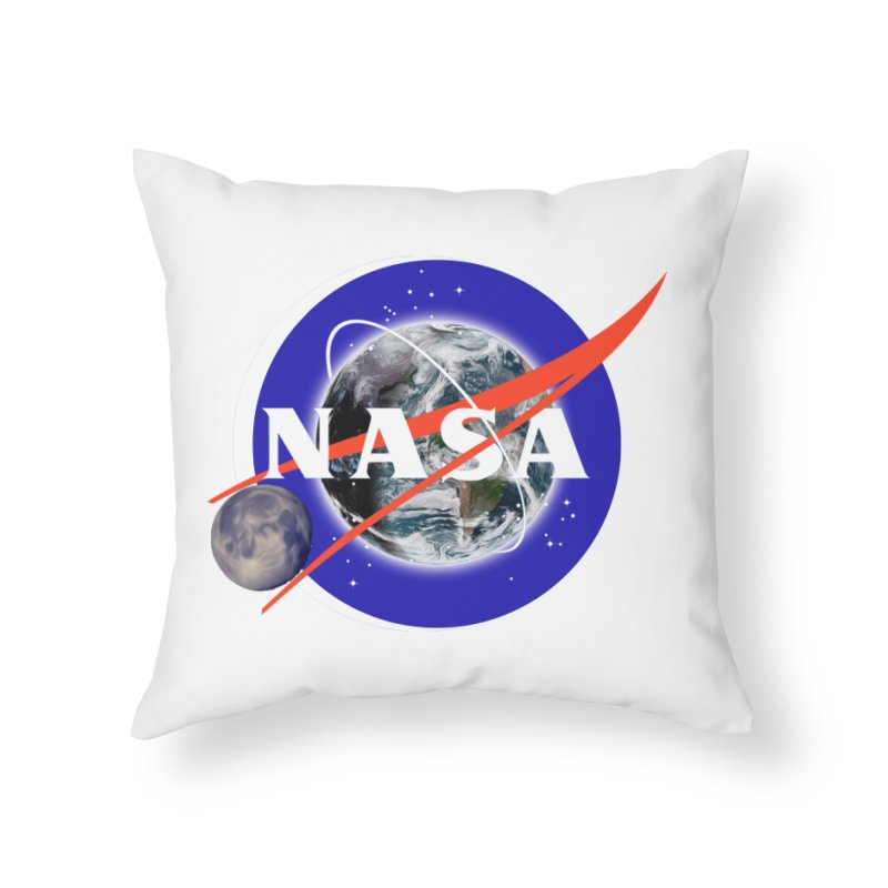 New NASA logo Home Throw Pillow by New NASA logo