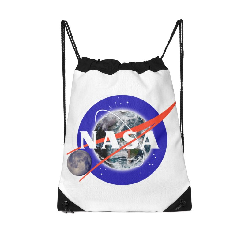 New NASA logo Accessories Drawstring Bag Bag by New NASA logo