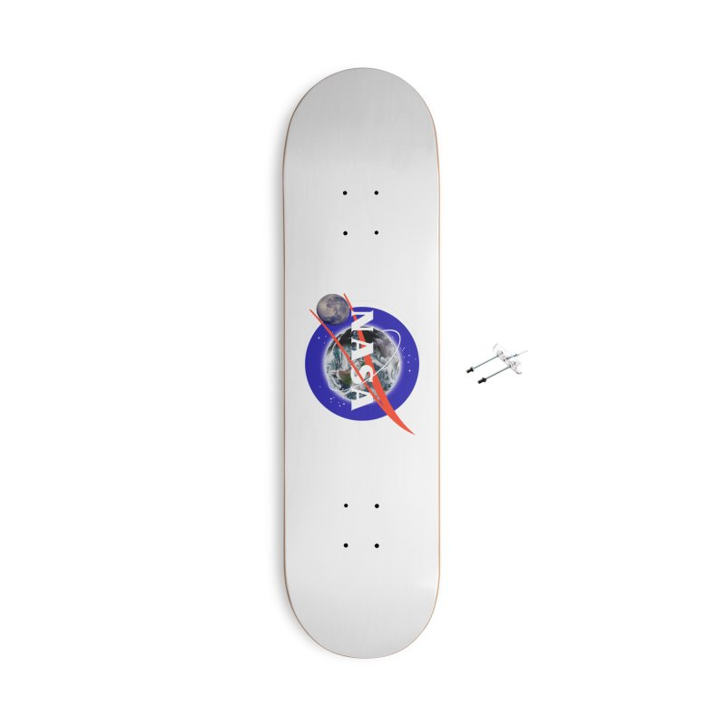 New NASA logo Accessories With Hanging Hardware Skateboard by New NASA logo