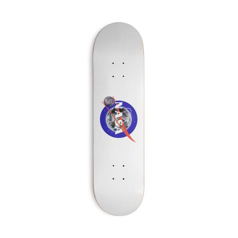New NASA logo Accessories Deck Only Skateboard by New NASA logo