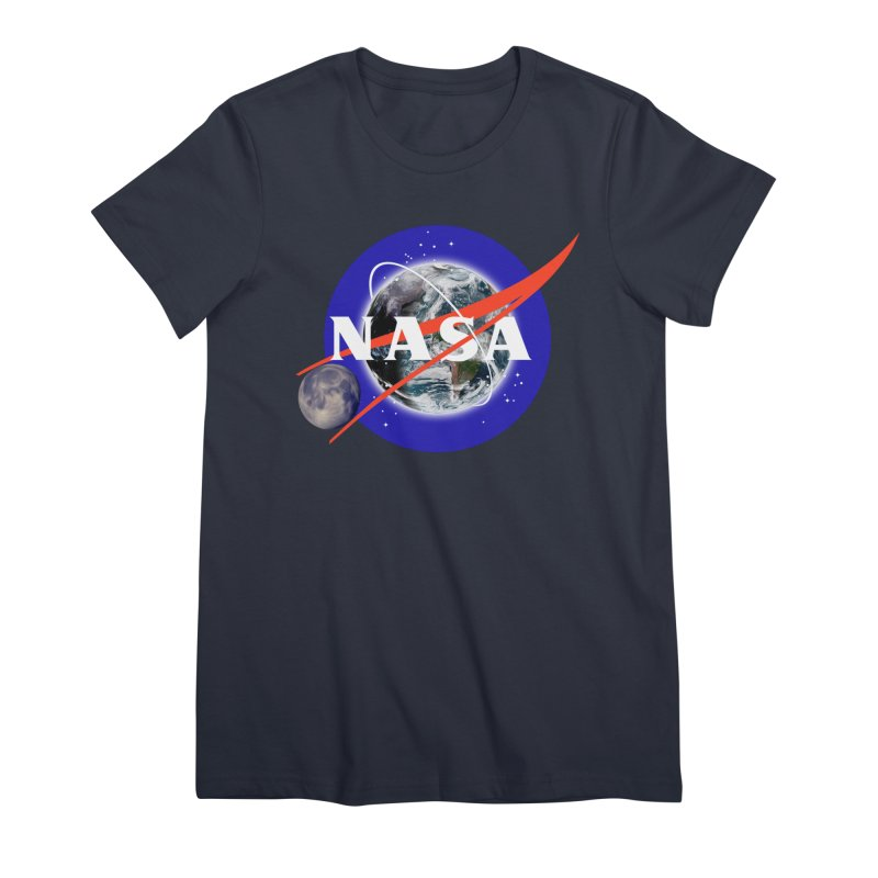 New NASA logo Women's Premium T-Shirt by New NASA logo
